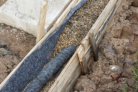 Water protection drainage